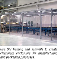 Softwall Cleanrooms and Portable WorkStations - Cleaneroom Enclosures