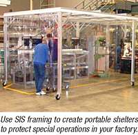 Softwall Cleanrooms and Portable WorkStations - Use