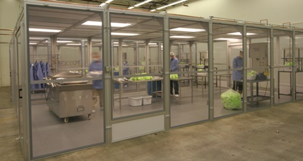 Airlock Enclosure Cleanroom Systems On Airflotek Inc