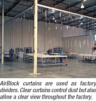 AirBlock Softwall Systems - Use