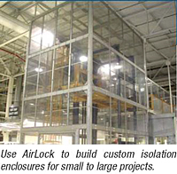 AirLock Enclosure Systems - Use